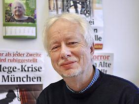Claus Fussek ist einer der bekanntesten Pflegekritiker Deutschlands. Er hat mehrere Bücher zu dem Thema geschrieben.