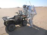 Zukunfts-Trip in der Wüste Omans: Forscher simulieren Mars-Mission