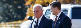 Verwirrung nach Porters Abgang: Weißes Haus gibt Kelly Rückendeckung