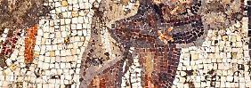 Das Mosaik ist mindestens 1700 Jahre alt.