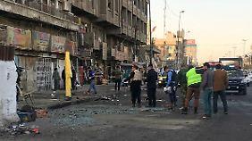 Große Teile der irakischen Infrastruktur sind zerstört.