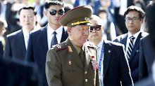 Umerziehung in Parteischule: Kim entlässt wohl Nordkoreas Militärchef