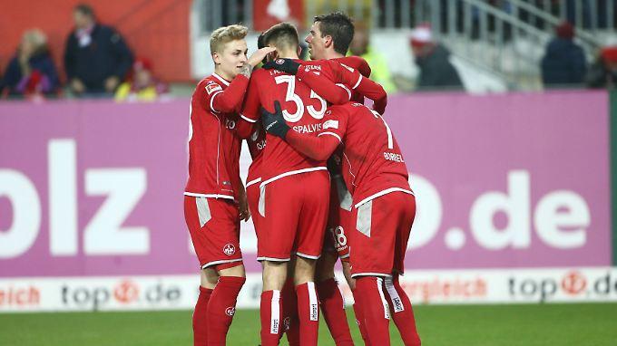 Wieder ein Sieg für Kaiserslauterns Kicker.