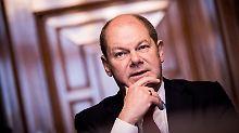 "Fortsetzung des CDU-Kurses: Scholz würde an ""schwarzer Null"" festhalten"