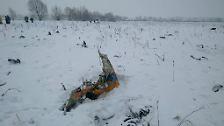 Flugzeugunglück in Russland: Antonow An-148 stürzt bei Moskau ab