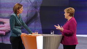 Geteiltes Echo der Merkel-Kritiker: Bundeskanzlerin verteidigt sich, will die CDU aber auch erneuern