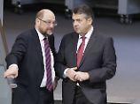 """""""Mann mit den Haaren im Gesicht"""": Gabriel bedauert Aussagen über Schulz"""
