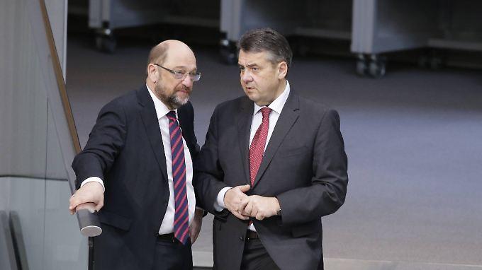 Parteichef Martin Schulz und sein Vorgänger Sigmar Gabriel sind nicht gut aufeinander zu sprechen.