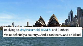 Australien kein Land?: Peinlicher Fehler kostet Uni-Professorin in den USA ihren Job