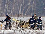 Antonow-Absturz bei Moskau: Einsatzkräfte bergen den Flugschreiber