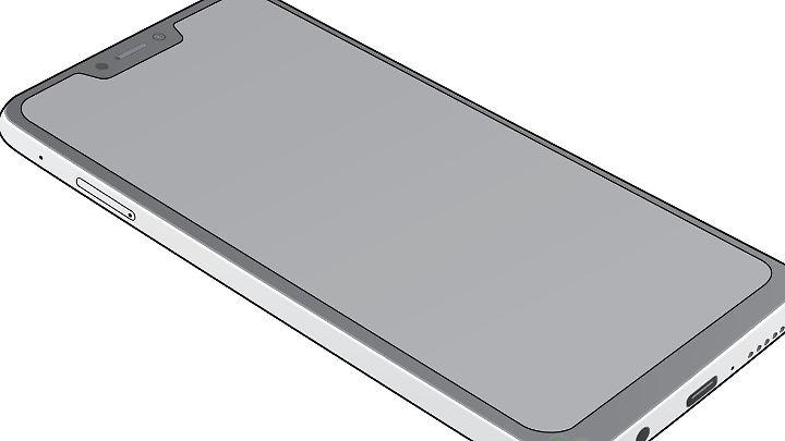 Das ist nicht das iPhone X, sondern wahrscheinlich das kommende Asus Zenfone 5.