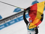"""Icewoman from Germany"": Im Ziel beginnt Dahlmeiers goldenes Leiden"