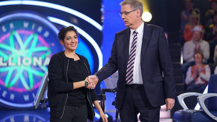 Roxanne von der Weiden aus Mannheim ist unter anderem dank der Hilfe von Günther Jauch um einige Euro reicher.