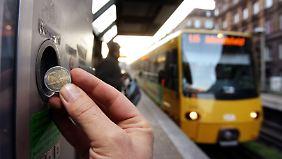 Fahrkarte für Tram kaufen? In Zukunft vielleicht nicht mehr nötig.