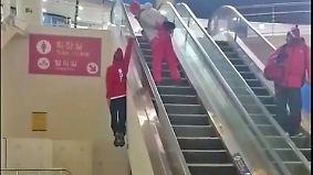 Bärenstarker Schweizer bei Olympia: Freeskier geht mit Rolltreppen-Stunt durch die Decke