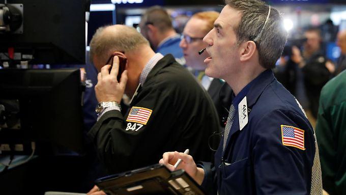 Banges Warten auf die US-Inflationsdaten.