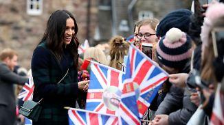 """Schottlandbesuch mit Prinz Harry: Meghan Markle """"hat die Hosen an"""""""