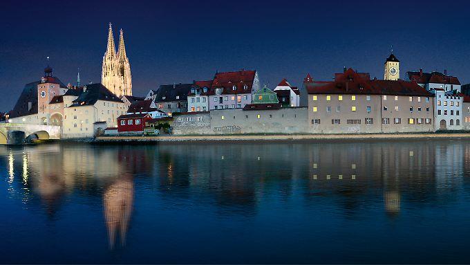 Berlin ist es nicht. Das ist Regensburg.