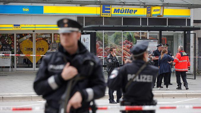 Ahmad A. soll am 28. Juli 2017 in einer Edeka-Filiale in Hamburg einen Mann erstochen und sechs weitere Menschen verletzt haben.