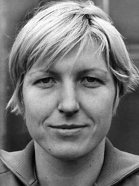 Waltraud Kretzschmar war in der 70er Jahren die prägende Spielerin im Frauen-Handball. (Archivfoto von 1976)