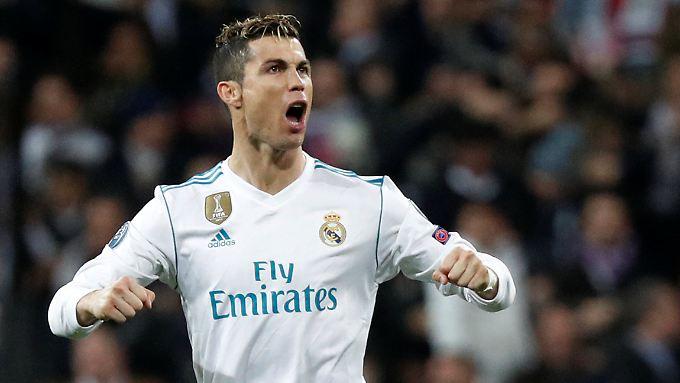 Cristiano Ronaldo traf einmal per Elfmeter und einmal per Abstauber.
