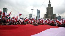 Regierungsappell an Landsleute: Auslandspolen sollen Heimat-Kritik melden