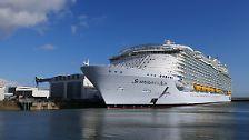 """""""Symphony of the Seas"""": In der Werft beim größten Kreuzfahrtschiff der Welt"""