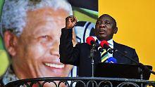 Ramaphosa ist neuer Staatschef: Mandelas Erbe übernimmt in Südafrika