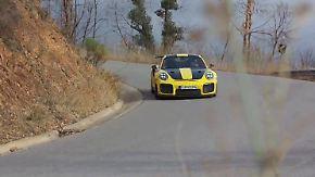 Porsche GT2 RS: Klaus Niedzwiedz gibt dem PS-Monster die Sporen