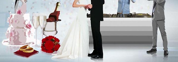 Das Geschäft mit...: Das Geschäft mit der Hochzeit