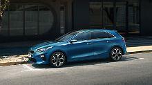 In der Seitenansicht erinnert der neue Kia Ceed ein wenig an die Mercedes A-Klasse.