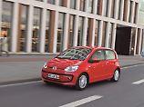 Ab 2012 wurde der VW Up auch als Fünftürer angeboten.