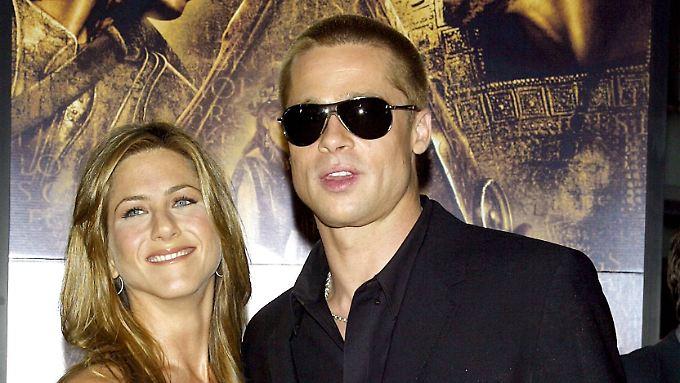 Für viele immer noch DAS Traumpaar: Jennifer Aniston und Ex-Mann Brad Pitt.