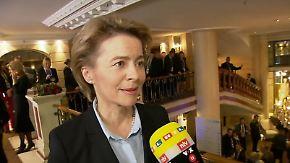 """Von der Leyen im n-tv Interview: """"Haben Trendwende bei der Bundeswehr eingeführt"""""""