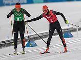 Olympiasieg für Norwegen: Langlaufstaffel verpasst Medaillenwunder