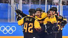 Wichtiger Sieg gegen Norwegen: Eishockeyauswahl gewinnt Penaltykrimi
