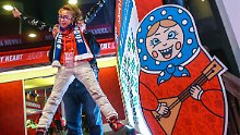 "Russische Party in Pyeongchang: ""Haus des Sports"" - Olympias skurrilster Ort"