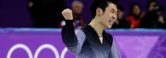 Topnoten für Landsmann aus China: Eiskunstlauf-Preisrichter wertet verdächtig