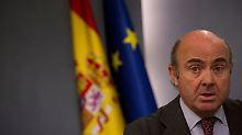 Luis de Guindos wechselt wohl von Madrid nach Frankfurt.