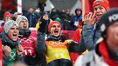 Dennoch ist das deutsche Team über den zweiten Rang enorm glücklich, denn ...