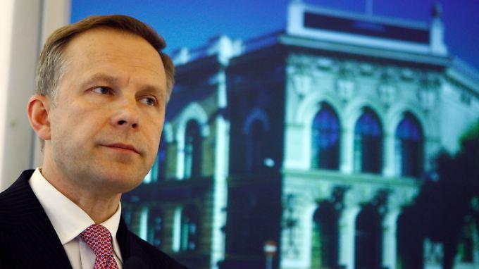 Zum Rücktritt kann Notenbankchef Ilmars Rimsevics kaum gezwungen werden.