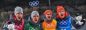 """Eisenbichler war """"sehr sauer"""": Im Team findet Freitag sein Olympiaglück"""