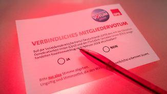 Start der GroKo-Abstimmung: SPD-Mitglieder müssen nun ihr Kreuz setzen