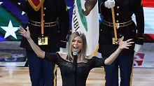 Der Sport-Tag: Fergie nach Hymnen-Horror bei NBA-Allstar-Game zerknirscht