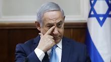 Wegen Betrugs und Geldwäsche: Zwei Vertraute Netanjahus festgenommen