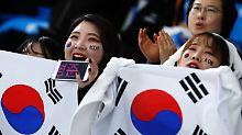 Das bringt der Olympia-Mittwoch: Korea feiert den Helene-Fischer-Effekt