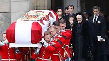 Begräbnis mit Lächeln im Gesicht: Dänemark nimmt Abschied von Prinz Henrik