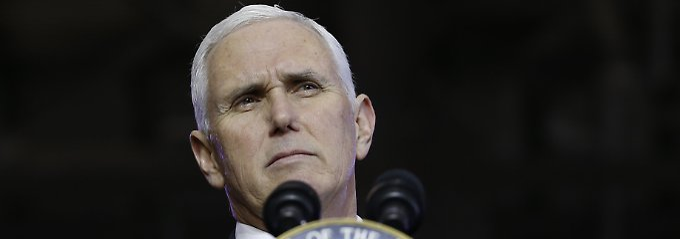 Neue Wirtschaftssanktionen?: USA: Nordkorea ließ Pence-Treffen platzen