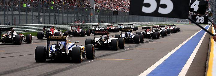 Kiosk aufmachen oder Formel 1?