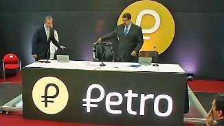 """Historischer Schritt mit Öl gesichert: Venezuela führt Digitalwährung """"Petro"""" ein"""